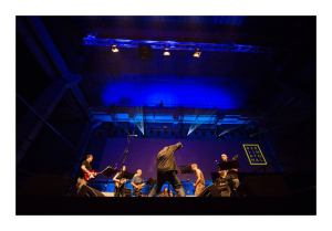 Glenn Branca Ensemble at Berlin Atonal (Photo taken from Berlin Atonal FB page)